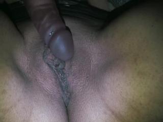 Meine zuckende Pussy beim geilen Orgasmus!
