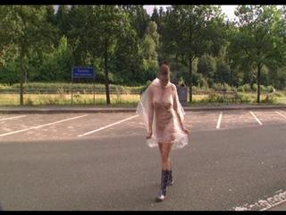 Funny Walk in Rubber Boots